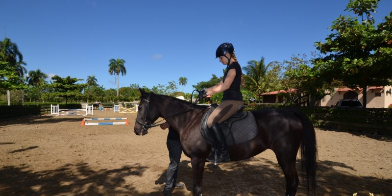 European horse rider