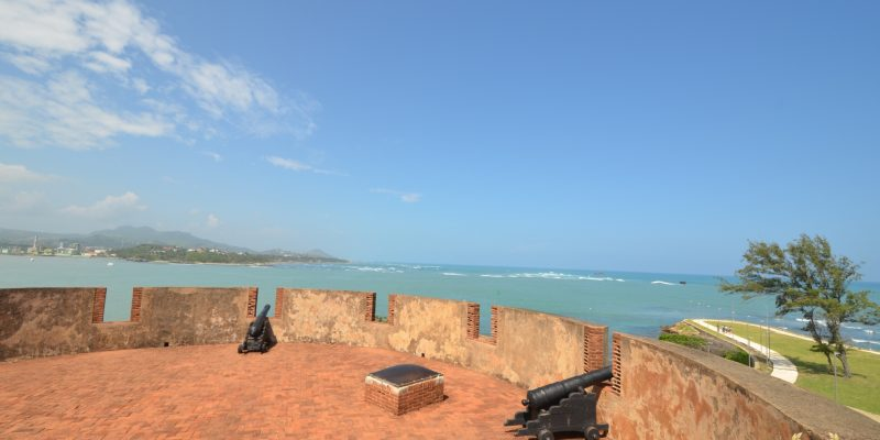 View of the bay from the fort