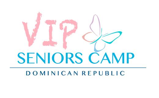 the vip seniors camp logo