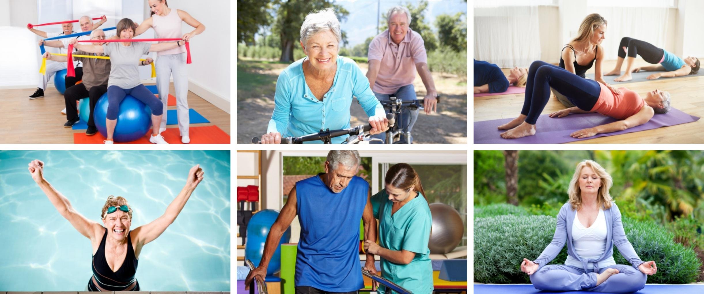 seniors fitness tile