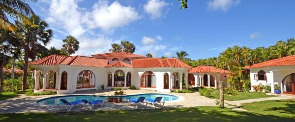 the smaller beach villa