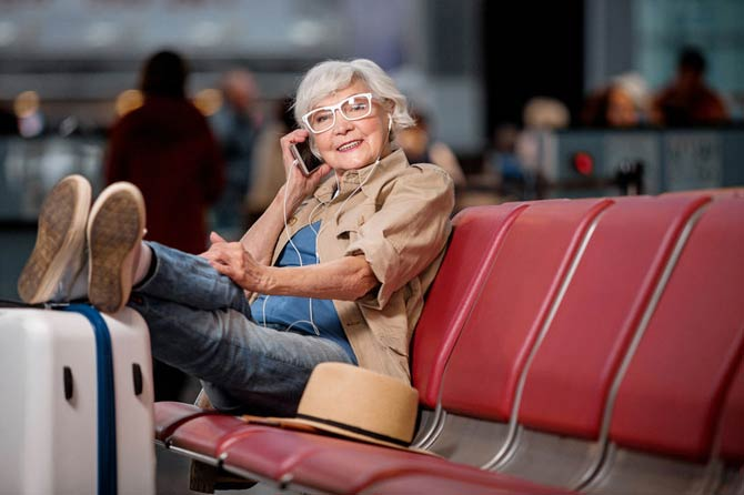 Traveling benefits on seniors healths